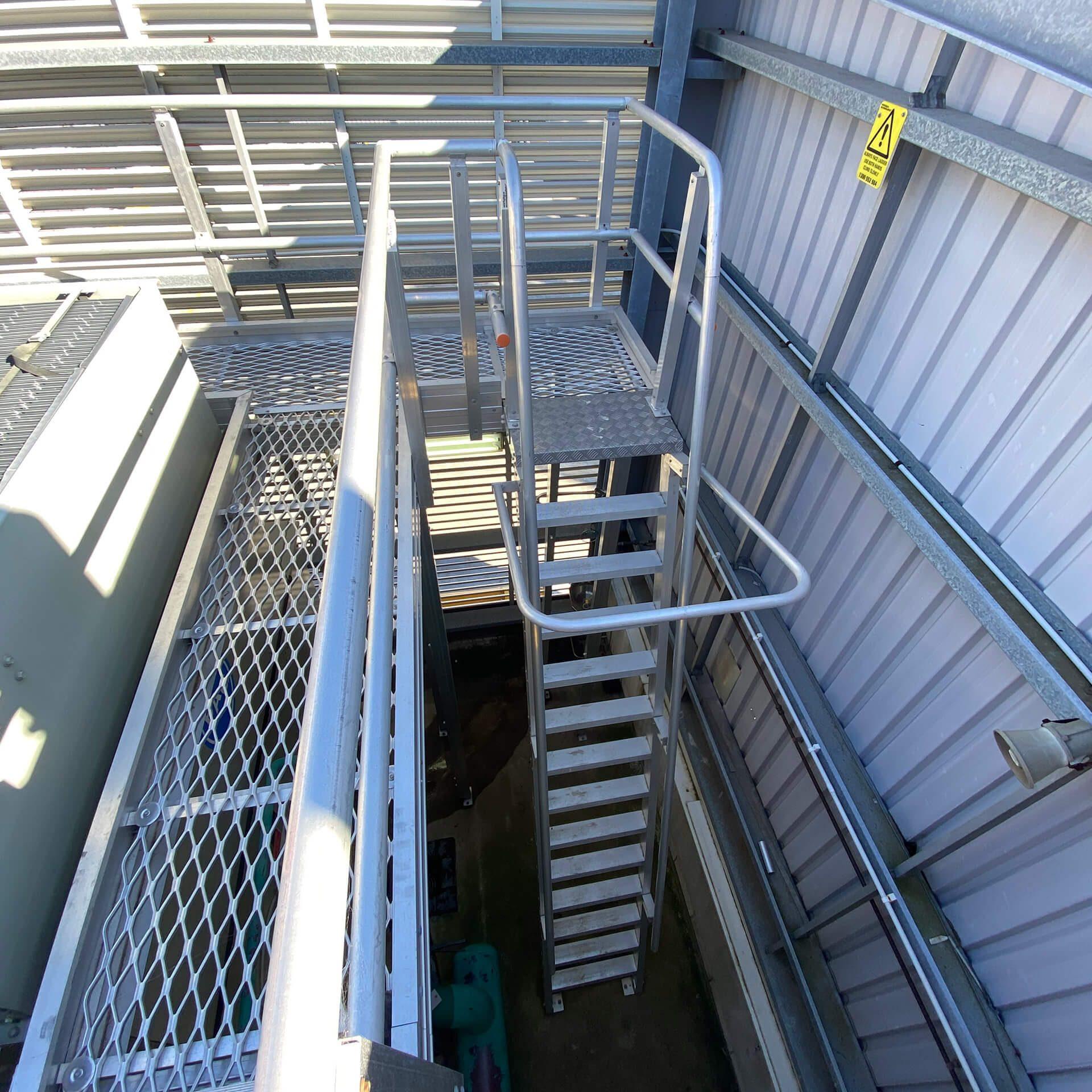 Safetek Sydney Ladders and Guard Rails (2)